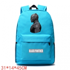 Marvel Comics Black Panther Movie School Bag Unisex Anime Backpack Bags