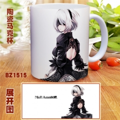 NieR: Automata Fashion Cup Coffee Mug Cups Will Change Color Anime Cup