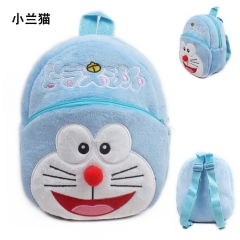 Doraemon Kawaii Cartoon Bag Wholesale Anime Plush Backpack Bags for Kids