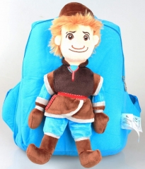 Frozen Kristoff Kawaii Cartoon Bag Anime Plush Backpack Bags for Kids