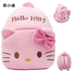 Hello Kitty Kawaii Cartoon Bag Wholesale Anime Plush Backpack Bags for Kids