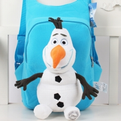 Frozen Olaf Kawaii Cartoon Bag Anime Plush Backpack Bags for Kids