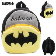 Batman Kawaii Cartoon Bag Wholesale Anime Plush Backpack Bags for Kids