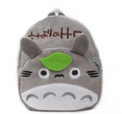 My Neighbor Totoro Kawaii Cartoon Bag Wholesale Anime Plush Backpack Bags for Kids
