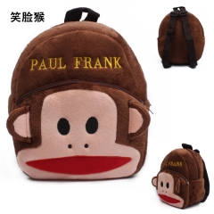 Paul Homme Kawaii Cartoon Bag Wholesale Anime Plush Backpack Bags for Kids