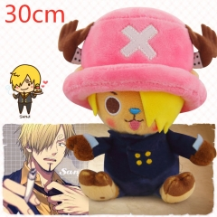 One Piece Chopper Cartoon Stuffed Doll Kawaii Gift Anime Plush Toys