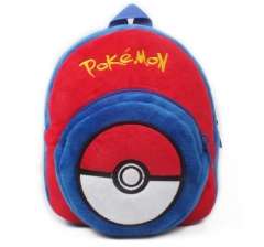 Pokemon Kawaii Cartoon Bag Wholesale Anime Plush Backpack Bags for Kids