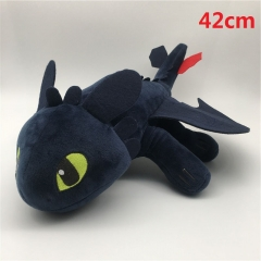 How to Train Your Dragon Night Fury Cartoon Stuffed Doll Wholesale Anime Plush Toys 42cm