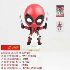 Q Version Deadpool Movie Cartoon Character Collection Model Toy Anime Figure