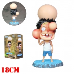 One Piece Funny Luffy Cartoon Cosplay Model Toys Statue Anime PVC Action Figures