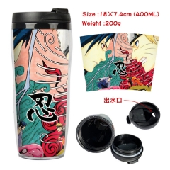 Naruto Anime Insulation Cup Heat Sensitive Mug
