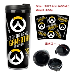 Overwatch Game Insulation Cup Heat Sensitive Mug