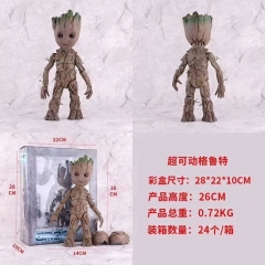 Guardians of the Galaxy Groot Character Movie Cosplay Statue Anime PVC Action Figure