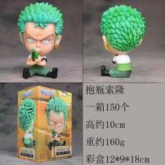 One Piece Zoro Funny Cartoon Cosplay Model Toys Statue Anime PVC Figures