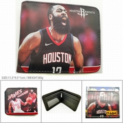 NBA James Harden PU Leather Wallet