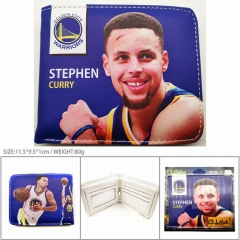 NBA Stephen Curry PU Leather Wallet