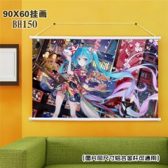 Vocaloid Cartoon Wall Scroll Decoration Fancy Wallscrolls