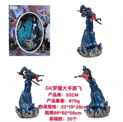 One Piece GK Luffy Anime PVC Figure Model