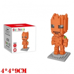Marvel Comics Guardians of the Galaxy Groot Movie Miniature Building Blocks For Kids Toy