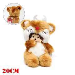 Anime MONCHHICHI COS Elk Chinese Version Plush Toy