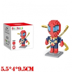 Marvel Comics Spider Man Movie Miniature Building Blocks For Kids Toy