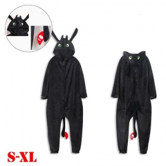 How to Train Your Dragon Movie Kigurumi Cosplay Costume