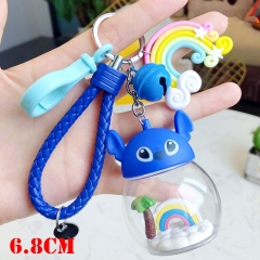 Lilo and Stitch Anime PVC Keychainn