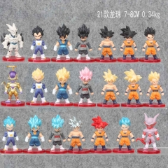 21 Designs Dragon Ball Z Action Figure Collection Wholeslale