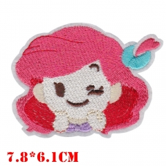The Little Mermaid Movie Cloth Patch
