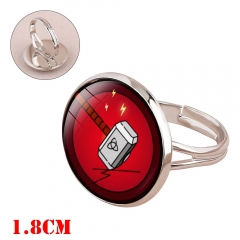 Marvel Comics Thor Movie Time Gem Alloy Ring