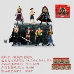 One Piece Anime Figure (set)(9.5-12cm)