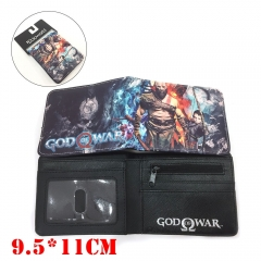 God Of War Game PU Leather Wallet