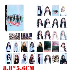 K-POP LOONA Card Photographs Set