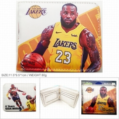 LeBron James PU Leather Wallet