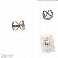 Harry Potter Movie Cosplay Hollow Decoration Alloy Ring