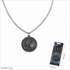 Game of Thrones Movie Alloy Necklace