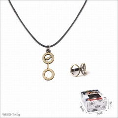 Harry Potter Movie Alloy Ring and Necklaces Set