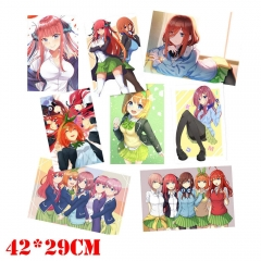 The Quintessential Quintuplets Anime Poster Set Pictures Mixed Random Choices