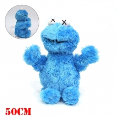 Sesame Street Anime COOKIE MONSTER Plush Toy