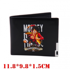 One Piece Anime Luffy PU Leather Wallet