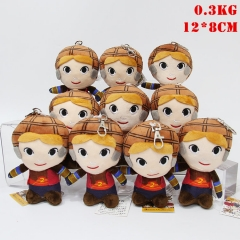 Harry Potter Cosplay Plush Pendant Doll Plush Toys (10pcs/set)