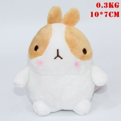 Molang Korean Cartoon Cosplay Plush Pendant Doll Plush Toys (10pcs/set)