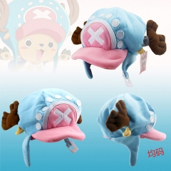 One Piece Cartoon Cosplay Decorative Free Size Anime Plush Hat