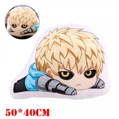 One Punch Man Anime Genos Plush Stuffed Doll Cushion Pillow