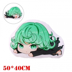 One Punch Man Anime Tatsumaki Plush Stuffed Doll Cushion Pillow