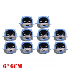 DC Comics Bat Man Movie Plush Keychain Set(10pcs)