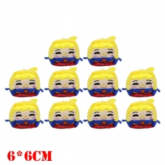 DC Comics Super Man Movie Plush Keychain Set(10pcs)