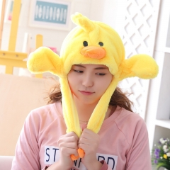 Anime Cute Animal Air Sacs Inside Paws Plush Hat