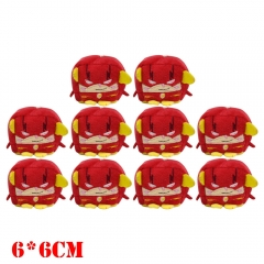 Marvel Comics Iron Man Movie Plush Keychain Set(10pcs)