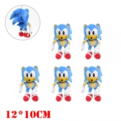 Super Sonic Game Plush Toy Keychain (10pcs/set)